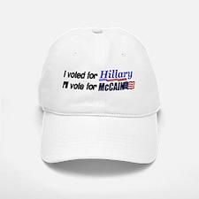 I'll vote McCain Baseball Baseball Cap