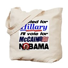 I'll vote McCain Tote Bag