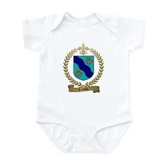 CORBIN Family Crest Infant Creeper