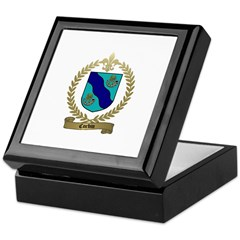 CORBIN Family Crest Keepsake Box