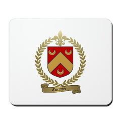 CORMIER Family Crest Mousepad