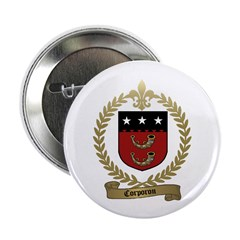 "CORPORON Family Crest 2.25"" Button (100 pack)"