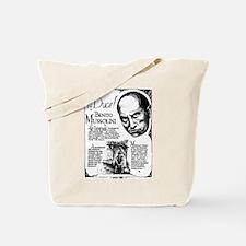 Benito Mussolini Poster Tote Bag