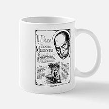 Benito Mussolini Poster Mug