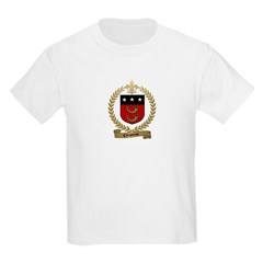CORPORON Family Crest Kids T-Shirt