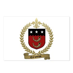 CORPORON Family Crest Postcards (Package of 8)