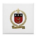 CORPORON Family Crest Tile Coaster