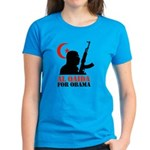 Al Qaida for Obama Women's Dark T-Shirt