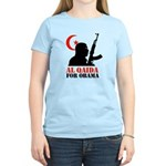 Al Qaida for Obama Women's Light T-Shirt