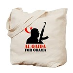 Al Qaida for Obama Tote Bag