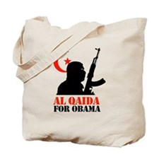 Al Qaida for Obama Tote Bag