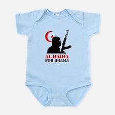 Al Qaida for Obama Infant Bodysuit