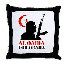 Al Qaida for Obama Throw Pillow