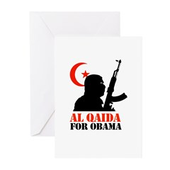 Al Qaida for Obama Greeting Cards (Pk of 20)