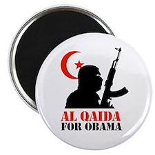 "Al Qaida for Obama 2.25"" Magnet (100 pack)"