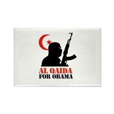 Al Qaida for Obama Rectangle Magnet