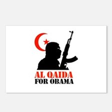Al Qaida for Obama Postcards (Package of 8)