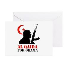 Al Qaida for Obama Greeting Cards (Pk of 10)