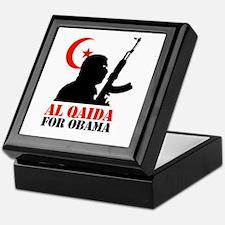 Al Qaida for Obama Keepsake Box