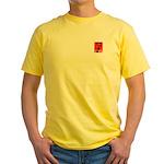 Anti-Obama: No He Can't Yellow T-Shirt