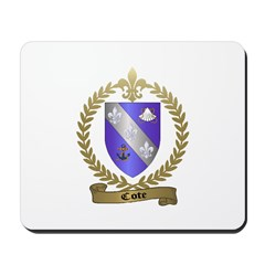 COTE Family Crest Mousepad