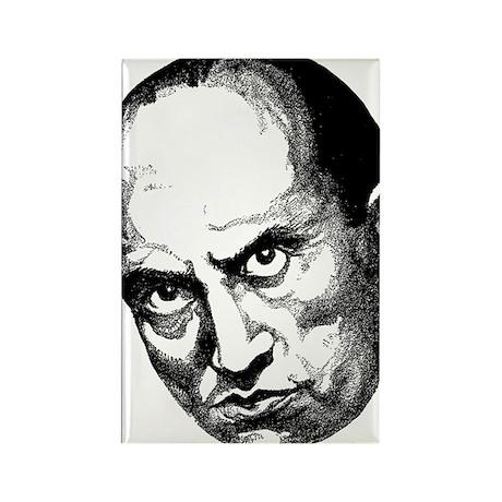 Benito Mussolini Rectangle Magnet