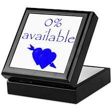 Romantic 0% Available Keepsake Box