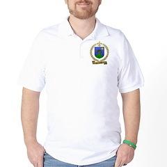 COUILLARD Family Crest Golf Shirt