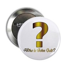 """Who is John Galt 2.25"""" Button (10 pack)"""