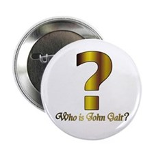 "Who is John Galt 2.25"" Button"