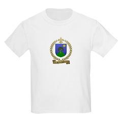 COUILLARD Family Crest Kids T-Shirt