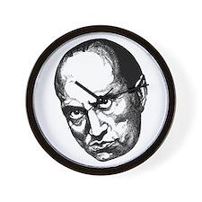 Benito Mussolini Wall Clock