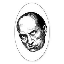 Benito Mussolini Oval Decal