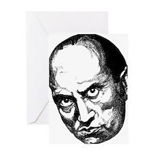 Benito Mussolini Greeting Card
