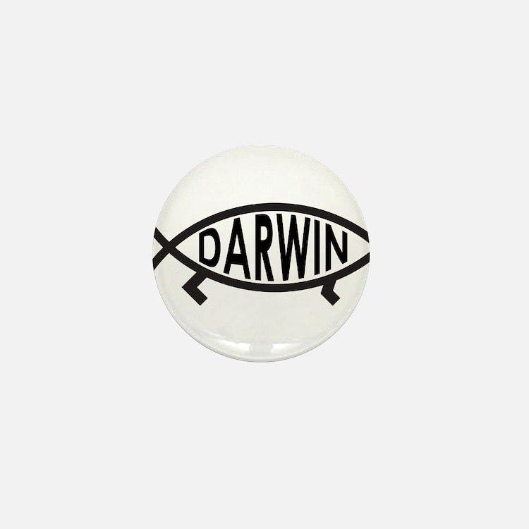 Cute Darwin Mini Button