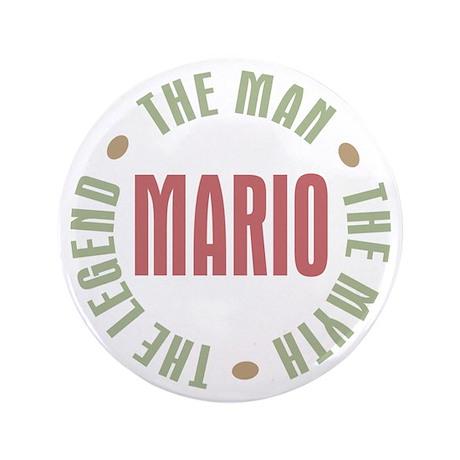 "Mario Man Myth Legend 3.5"" Button"