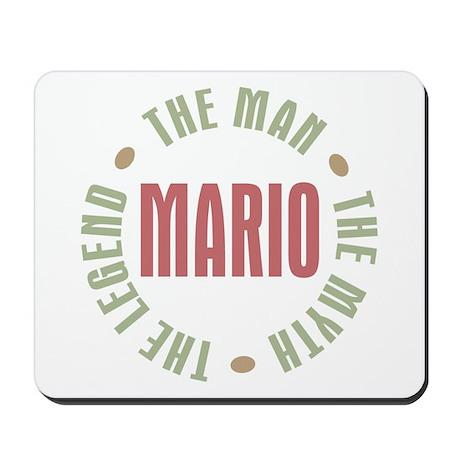 Mario Man Myth Legend Mousepad