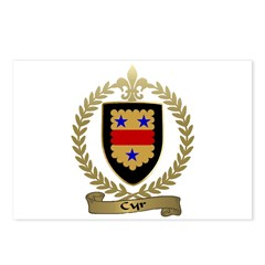 CYR Family Crest Postcards (Package of 8)