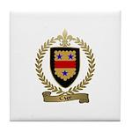 CYR Family Crest Tile Coaster