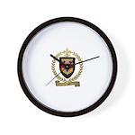 CYR Family Crest Wall Clock