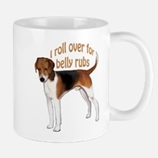American foxhound belly rub Mug