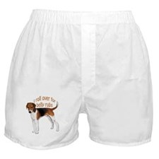 American foxhound belly rub Boxer Shorts