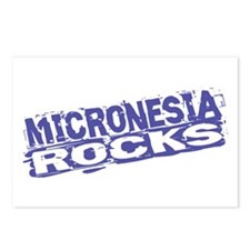 Micronesia Rocks Postcards (Package of 8)