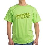 Moldova Rocks Green T-Shirt