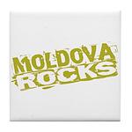 Moldova Rocks Tile Coaster