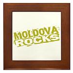 Moldova Rocks Framed Tile