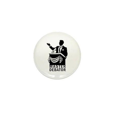 Master Debator Mini Button (10 pack)