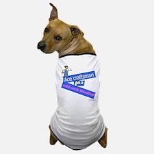 Naughty plasterer Dog T-Shirt