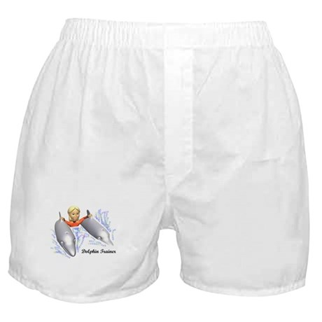 Dolphin Trainer Boxer Shorts