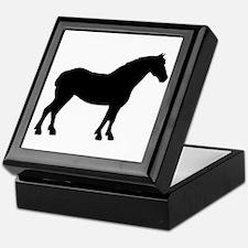 Draft Horse Keepsake Box